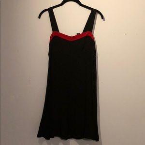 Black and red Ralph Lauren dress